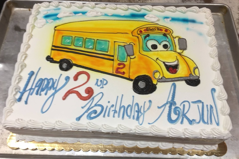 Tag School Bus Dorsis Bakery Cake Gallery